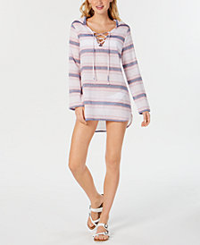 Miken Juniors' Cotton Hooded Cover-Up