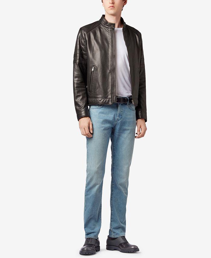 Hugo Boss - Men's Slim-Fit Stretch Jeans