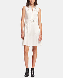 DKNY Zippered Utility Dress, Created for Macy's
