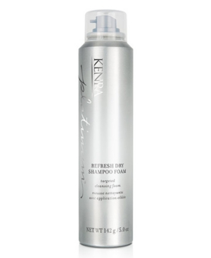 Kenra Professional Platinum Refresh Dry Shampoo Foam, 5-oz, from Purebeauty Salon & Spa