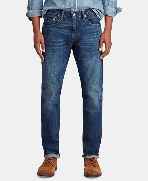 92e133fab Polo Ralph Lauren Men s Varick Slim Straight Jeans   Reviews - Jeans ...