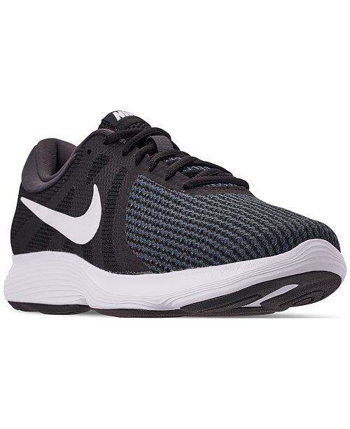 dc3d39475fb ... Nike Women s Revolution 4 Wide Width Running Sneakers from Finish ...