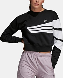adidas Originals Bossy 90s Cropped Sweatshirt