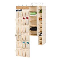 Honey Can Do Bamboo Closet Organizing Kit