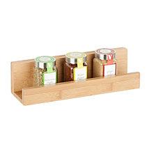 Honey Can Do Bamboo Wall Shelf