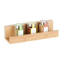 Honey Can Do Bamboo Wall Shelf