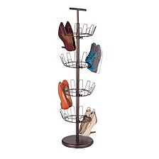 4-Tier Revolving Shoe Tree