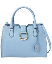 e13a41a4140 Lauren Ralph Lauren Kenton Pebble Leather Satchel, Created for Macy s