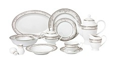 Juliette 57-PC Dinnerware Set, Service for 8