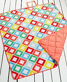 "Carnival Diamond 60"" x 72"" Beach Blanket, Created for Macy's"