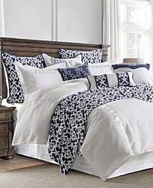 Kavali Linen 4 Piece King Comforter Set