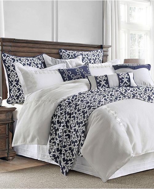 HiEnd Accents Kavali Linen 4 Piece Comforter Set