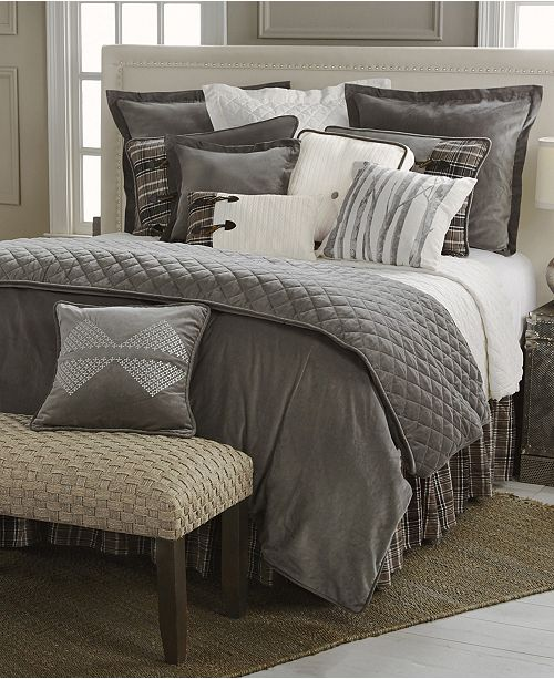 HiEnd Accents Whistler 4-Pc King Bedding Set