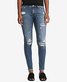Silver Jeans Co. Bleecker Ripped Skinny Jeans
