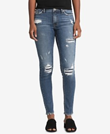 Silver Jeans Co. Bleecker Ripped Skinny Jeans