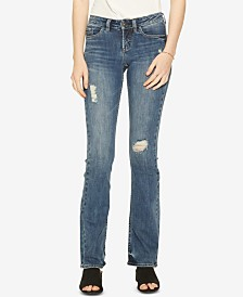 Silver Jeans Co. Tuesday Ripped Bootcut Jeans