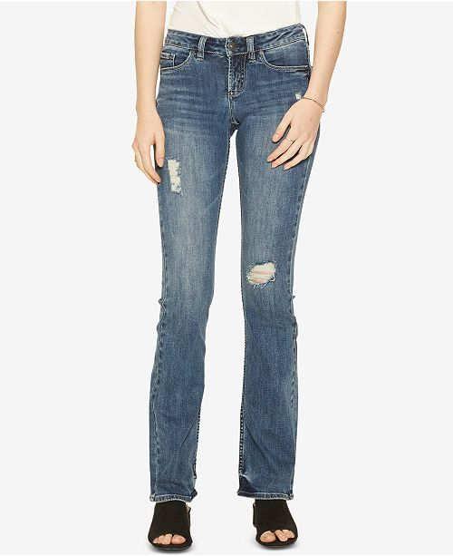 86bda58fd6 Silver Jeans Co. Tuesday Ripped Bootcut Jeans   Reviews - Jeans ...
