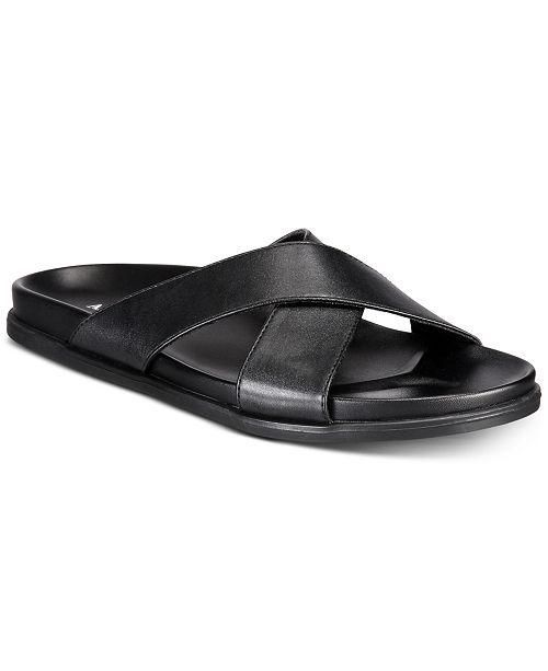 82c0c918f34 Alfani Men S Codi Cross Sandals Created For Macy Reviews All