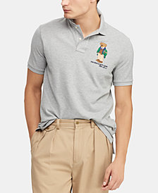 Polo Ralph Lauren Men's Classic Fit Polo Bear  Polo, Created for Macy's