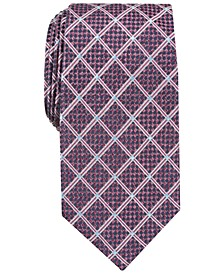 Men's Edale Grid Silk Tie