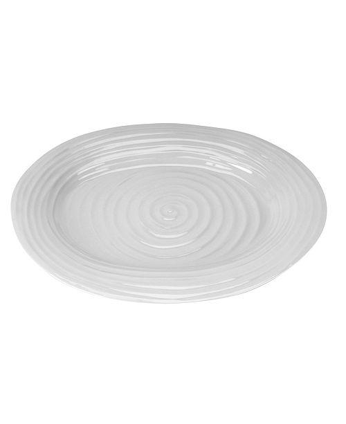 Portmeirion Sophie Conran Grey Large Oval Platter