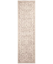 "Bob Mackie Home Vintage Damascus 1312 Ivory 2'2"" x 7'10"" Runner Area Rug"