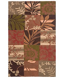 Surya Cosmopolitan COS-8818 Burnt Orange 8' x 11' Area Rug