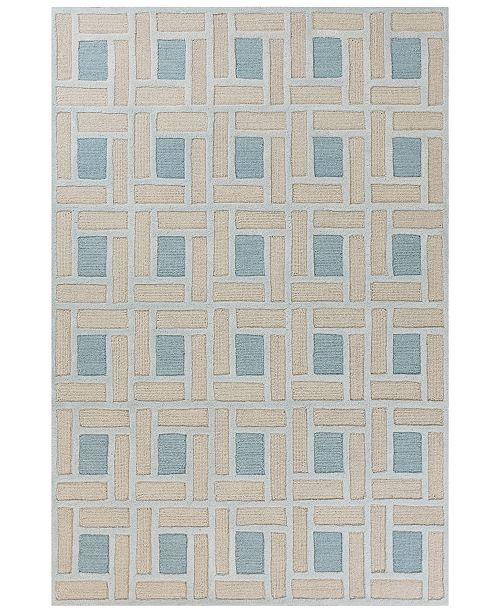 "Libby Langdon Soho Brick By Brick 8'6"" x 9'10"" Area Rug"
