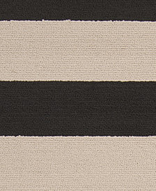 "Surya Rain RAI-1079 Black 18"" Square Swatch"