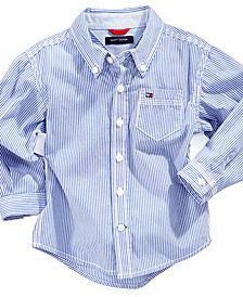 Tommy Hilfiger Baby Boys Button Down Stripe Shirt