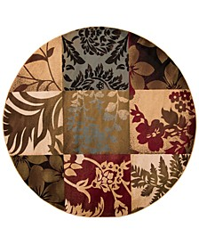 Riley RLY-5015 Tan 8' Round Area Rug