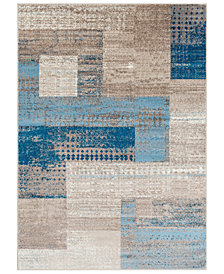"Surya Riley RLY-5100 Dark Blue 6'6"" x 9'8"" Area Rug"