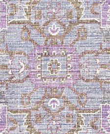 "Surya Germili GER-2317 Bright Purple 18"" Square Swatch"