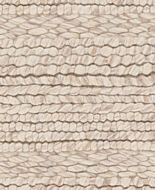 "Surya Tahoe TAH-3700 Cream 1'6"" x 1'6"" Square Swatch"