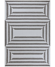 Libby Langdon Hamptons Emerson 7' Indoor/Outdoor Round Area Rug