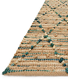"Loloi Beacon Jute BU-03 7'9"" x 9'9"" Area Rug"