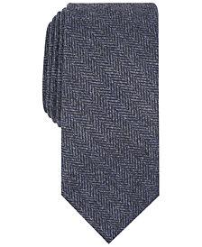 Tallia Men's Murray Herringbone Slim Tie