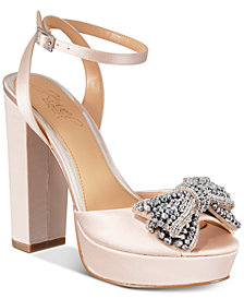 Jewel Badgley Mischka Zina Evening Sandals