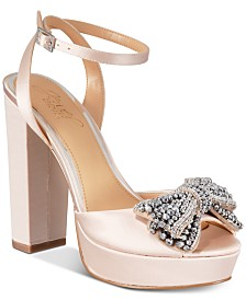 Jewel Badgley Mischka Zina Evening Sandals