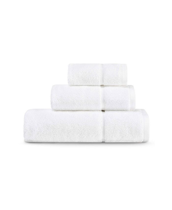 Vera Wang - Modern Lux 100% Cotton 3-Pc. Towel Set