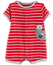 7098fe94c Carter's Baby Boys Cotton Romper