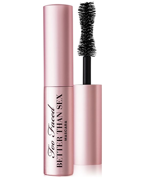 Too Faced Travel Size Better Than Sex Mascara, 0.17 oz