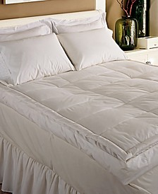 233 Thread Count Cotton 5 Inch Gusseted Twin Featherbed