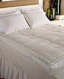 Blue Ridge 233 Thread Count Cotton 5 Inch Gusseted Featherbed Collection
