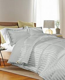 3 Piece Reversible Down Alternative Twin Comforter Set