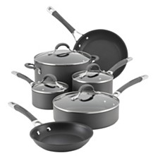 Circulon Radiance Hard-Anodized Nonstick 10 Piece Cookware Set