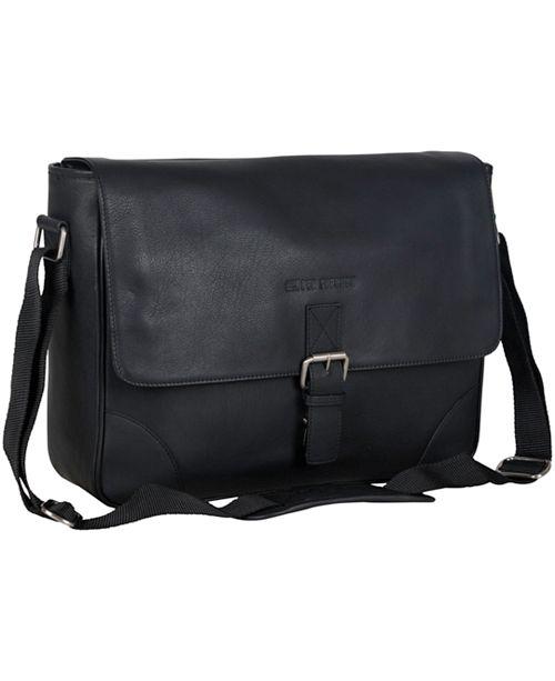 Ben Sherman Karino Leather Crossbody 15 Computer Travel Messenger Bag Backpacks Luggage Macy S