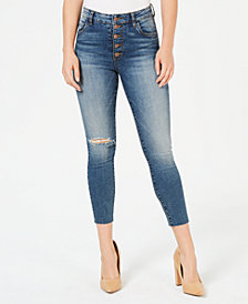 Kut from the Kloth Catherine High Rise Ankle Straight Jeans
