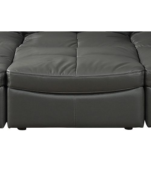 Furniture of America Onta Contemporary Ottoman