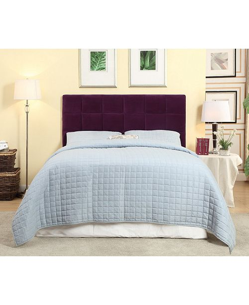Furniture Of America Hellan Full Queen Upholstered Headboard